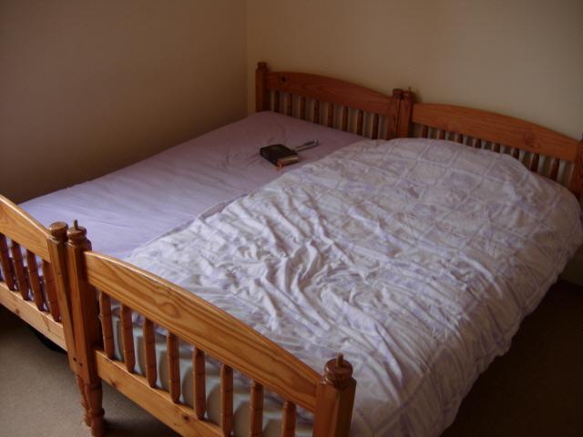 진짜 더블 침대