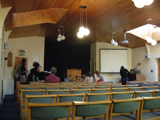 예배당의 모습