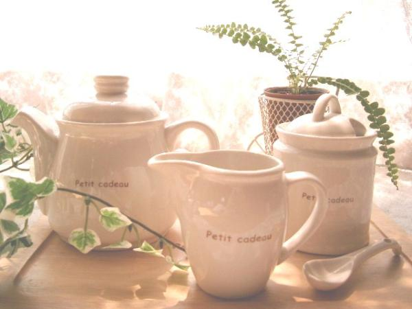 Teapot&Suger pot&Milk pitcher~*☆