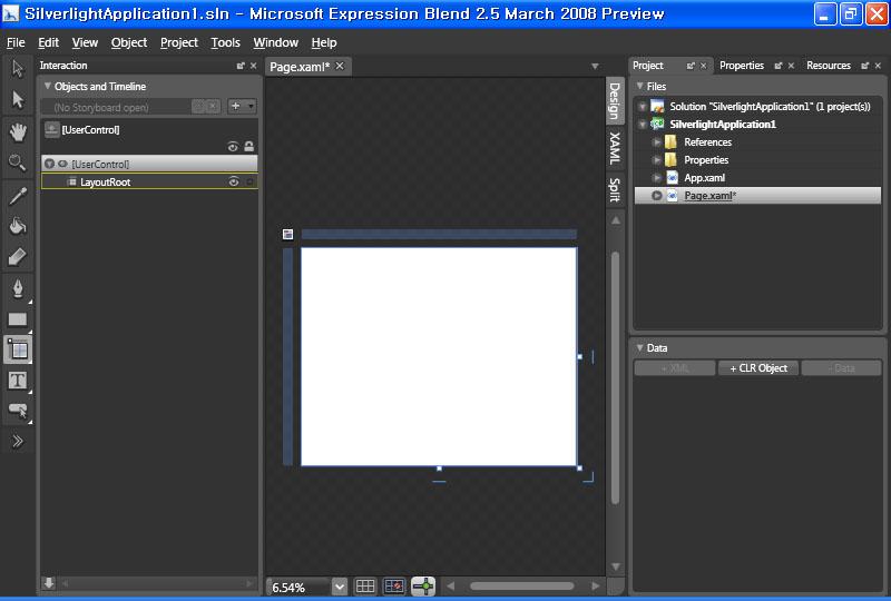 Expression Blend 2.5
