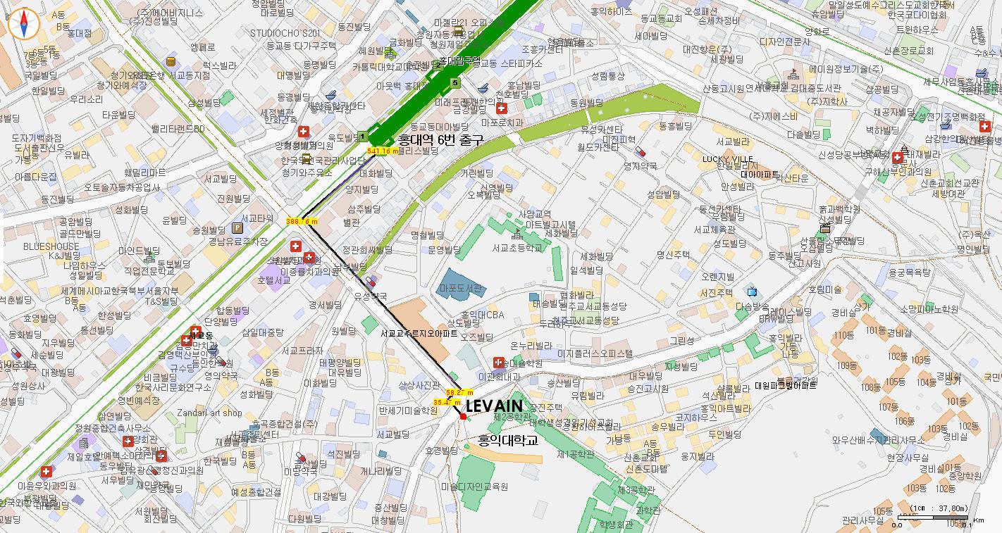 르방 Levain 찾아가기