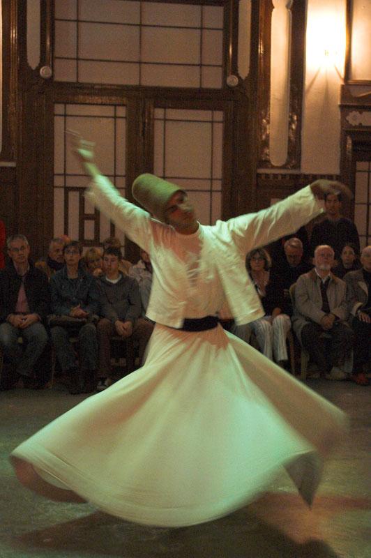 수피 댄스 공연