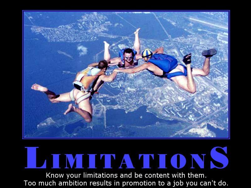 생활영어 - Limitations - 한계