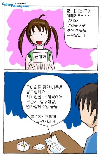 (일본사 이야기 23장) 일본의 개항 과정과 미일수호통상조약의 내용