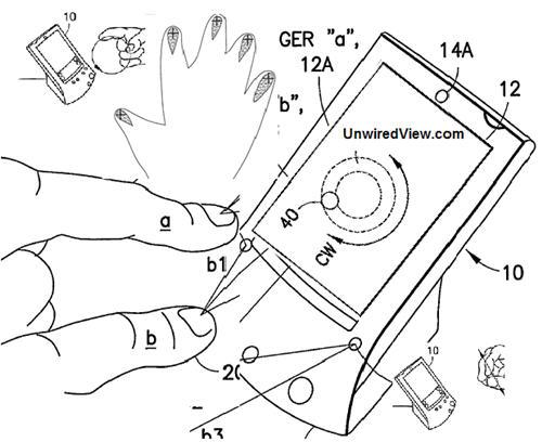 Nokia: Multi-Finger Gesture Patent
