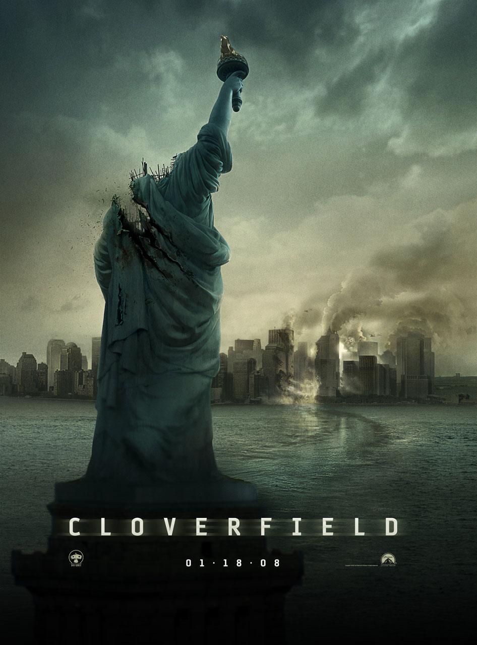 CLOVERFIELD 포스터