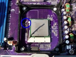 메인보드 소켓 CPU 장착