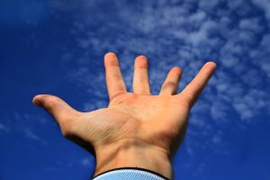 wide hand